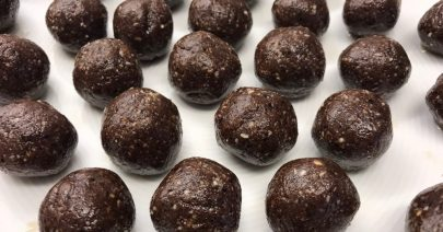 Dadelbollar i choklad